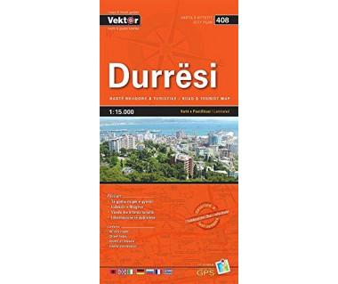 Durresi (408) mapa laminowana