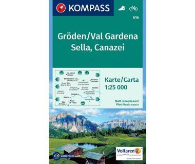 K 616 Groden/Val Gardena, Sella, Canazei