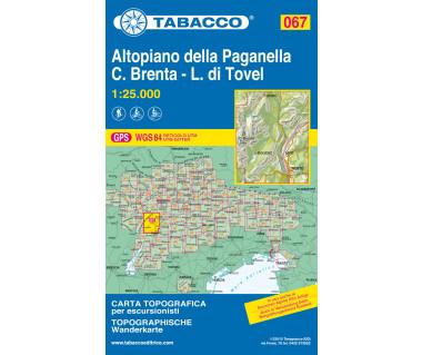 TAB067 Altopiano della Paganella, L. di Tovel - C. Brenta - Trento