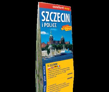 Szczecin i Police plan laminowany
