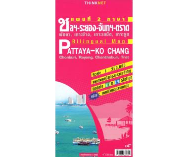 Pattaya-Ko Chang Billingual Map