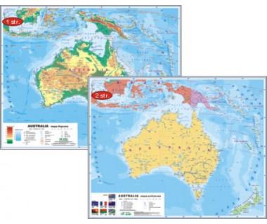 Australia mapa podręczna