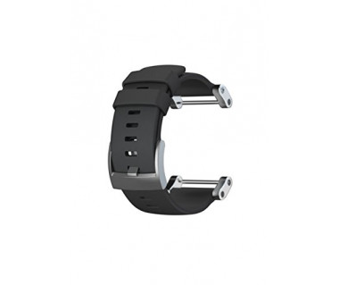 Pasek do zegarka Core Flat Black Rubber Strap