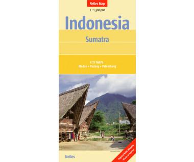 Indonesia Sumatra - Mapa