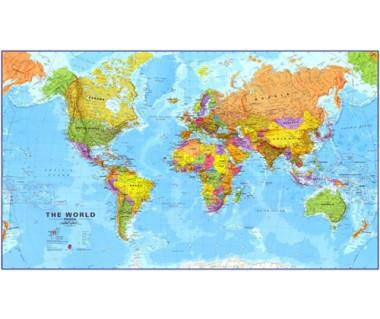The World (mapa - podkładka na biurko)