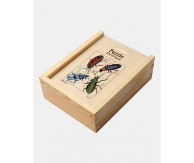 Puzzle drewniane Owady 2 (nadobnica...)