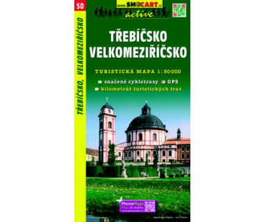 Trebicsko, Velkomeziricsko - Mapa