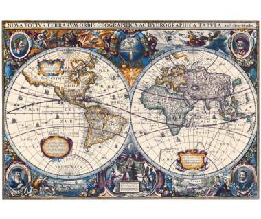 Świat reprint, H. Hondius, 1630/1641 r.