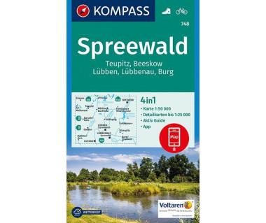 K 748 Spreewald, Teupitz, Beeskow, Lubben, Lubbenau, Burg