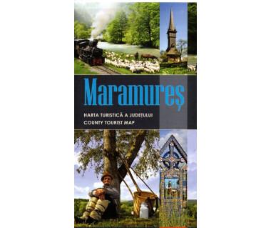 Maramures harta turistica a judetului/country tourist map