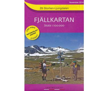 Storlien-Ljungdalen - Mapa