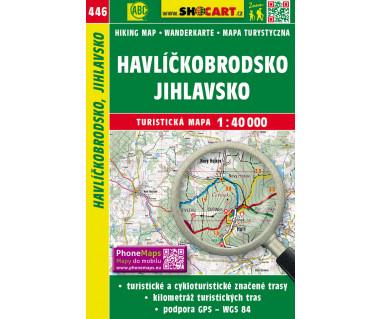 Havlickobrodsko, Jihlavsko - Mapa