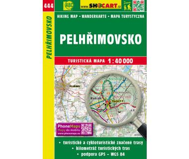 Pelhrimovsko - Mapa