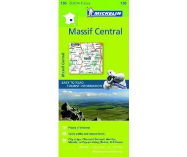 Massif Central - Mapa