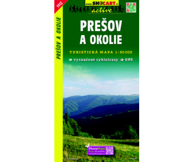 Presov a okolie - Mapa turystyczna