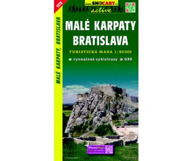 Malé Karpaty, Bratislava - Mapa turystyczna