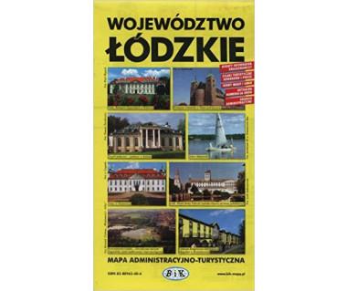 Województwo łódzkie mapa turystyczno-samochodowa