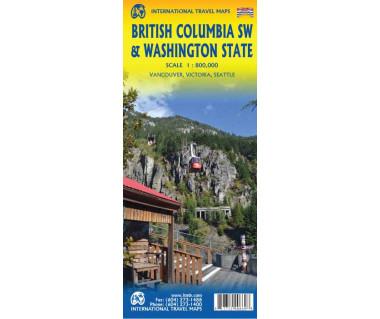 British Columbia SW & Washington State