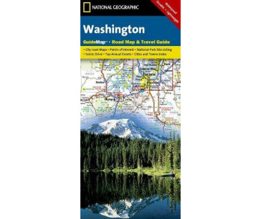 Washington Road Map & Travel Guide