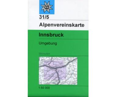 Innsbruck Umgebung - Mapa