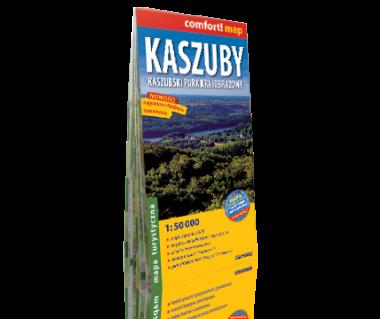 Kaszuby, Kaszubski Park Krajobrazowy mapa laminowana