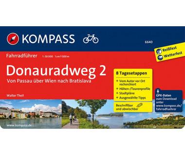 K 6640 Donauradweg Von Passau uber Wien nach Bratislava