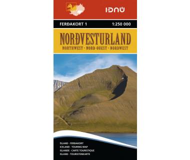 Iceland 1 Nordvesturland (Islandia pn.-zach.)