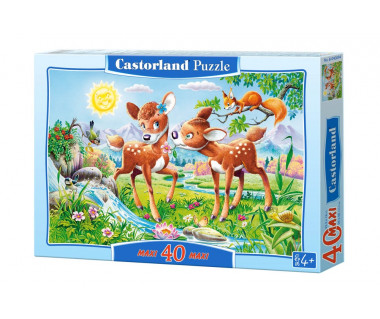 Puzzle 40 maxi Little Deers