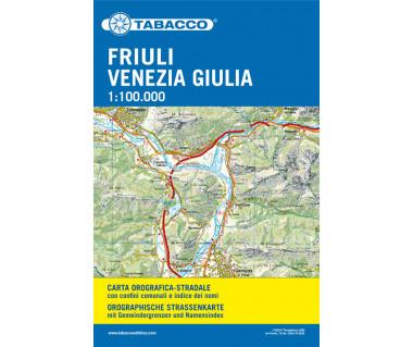 Friuli Venezia Giulia (duży format+index)
