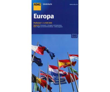 Europa - Mapa