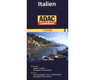 Italien - Mapa