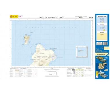 CNIG 25 1079-IV Isla de Montaña Clara