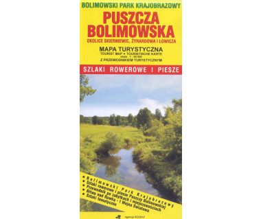Puszcza Bolimowska - Mapa