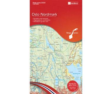 Oslo Nordmark - Mapa