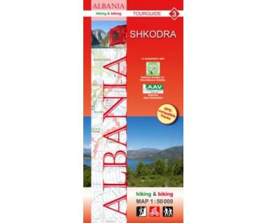 Albania (3) Shkodra map