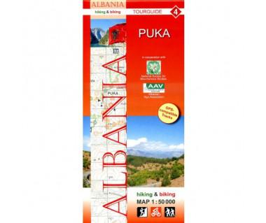 Albania (4) Puka map