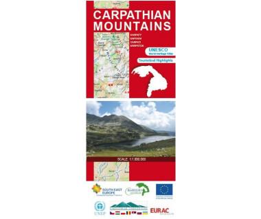 Carpathian Mountains - Mapa