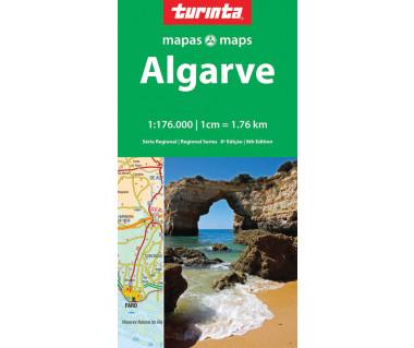 Algarve - Mapa