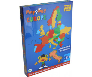 Mapology Europe 34 (puzzle piankowe)
