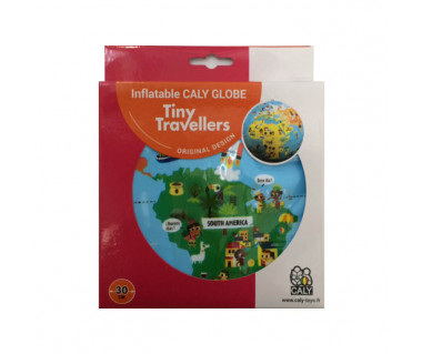 The World Tiny Travellers 30cm (globus dmuchany)