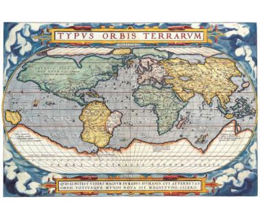 Świat reprint, A. Ortelius, 1571 r.
