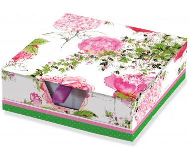 Karteczki zdobione Rose Garden