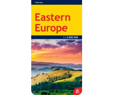 Eastern Europe - Mapa