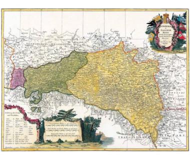 Galicja i Lodomeria reprint, J. B. Homann, 1775 r.