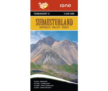 Iceland 4 Sudausturland (Islandia pd-wsch)