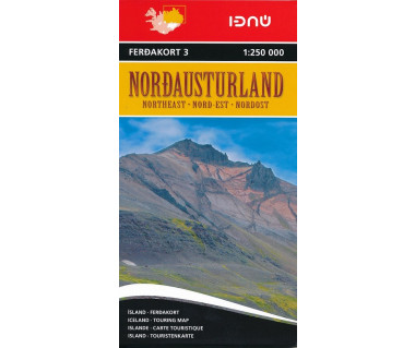 Iceland 3 Nordausturland (Islandia pn-wsch)