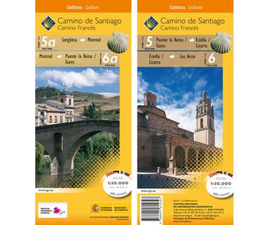 Camino de Santiago 5a-6 GPS Sanguesa-Los Arcos