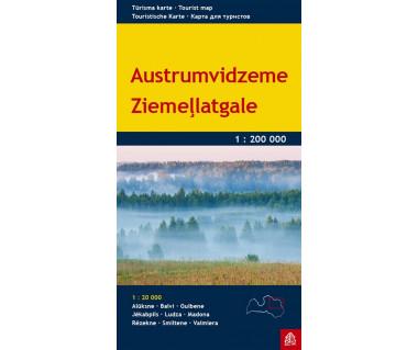 Austrumvidzeme, Ziemellatgale (Łotwa pn-wsch.)