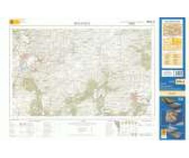 Bieszczady Wschodnie mapa dla wytrawnego turysty