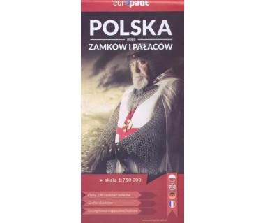 Polska mapa zamków i pałaców